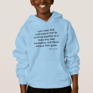 """Låt oss hjälpa den unge"" Hanes ComfortBlend® Tshirts"