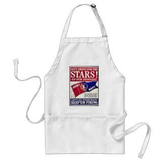 Låt oss skjuta för stjärnorna på vår standert förkläden