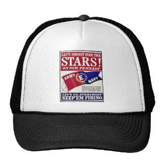 Låt oss skjuta för stjärnorna på vår standert kepsar
