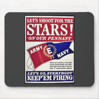 Låt oss skjuta för stjärnorna på vår standert musmatta