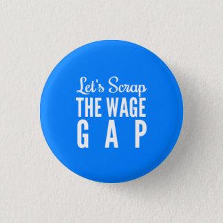 Låt oss skrota timpenningen Gap Mini Knapp Rund 3.2 Cm