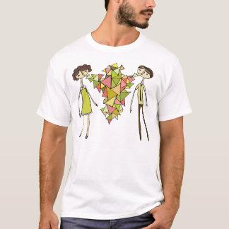 Låt oss tala trianglar t-shirt