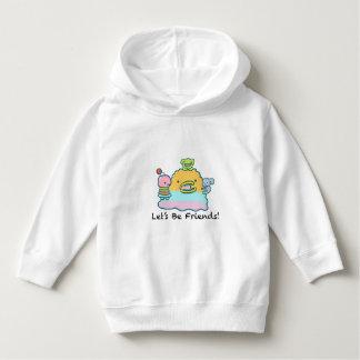 Låt oss vara hoodien för vänsmåbarnpulloveren tröjor
