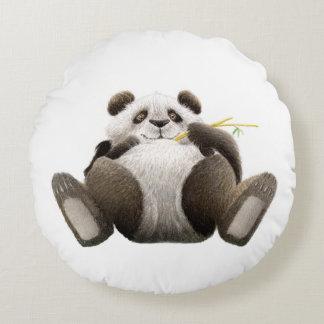 Lat Panda Rund Kudde