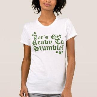 Låter för att få redo att snubbla! tee shirt