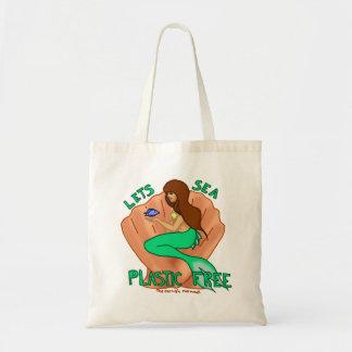 Låter plast- fritt för havet! Krickasjöjungfrutoto Budget Tygkasse