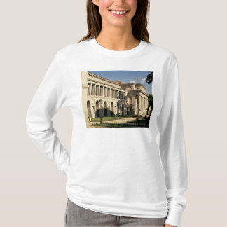 Lateralen beskådar av museet t shirts