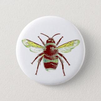 Låtet det klämmer fast biet standard knapp rund 5.7 cm