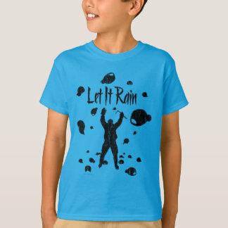 Låtet det regna (hockey) t-shirts