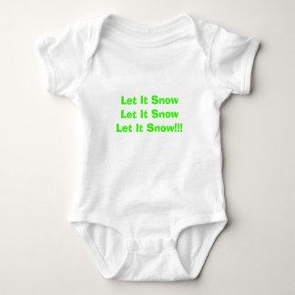 Låtet det SnowLet det SnowLet det snö!!! T-shirt