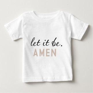 Låtet det var - Amen citationstecknet T Shirt