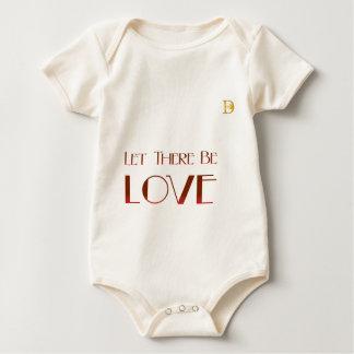 Låtet finns det kärlek body för baby