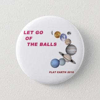 Låtet gå av bollarna - lägenhetjord 2016 standard knapp rund 5.7 cm