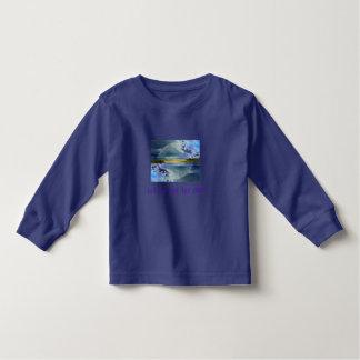 Låtet gå låta långärmader för GUDsmåbarnskjortan Tröjor