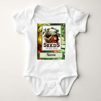 """Låtet """" s växer grönsaker t-shirt"""