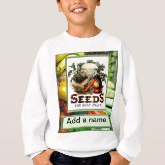 """Låtet """" s växer grönsaker tee shirt"""