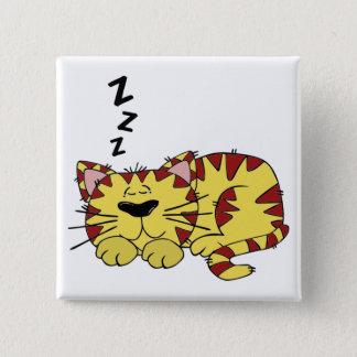 Låtet sova ljuger katter standard kanpp fyrkantig 5.1 cm