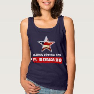 Latina röstning för El Donaldo Linne