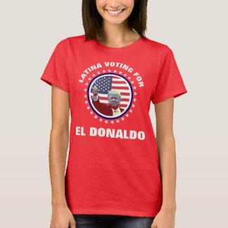 Latina röstning för El Donaldo T Shirt