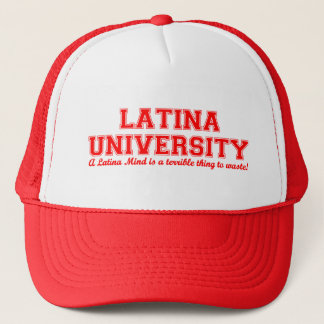 Latina universiteten truckerkeps