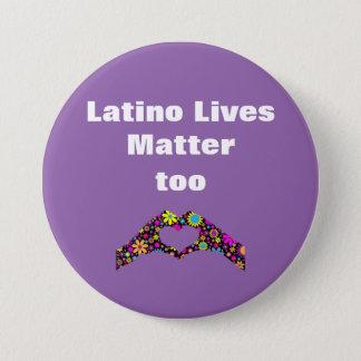 Latinoliv betyder hjärta räcker för knäppas mellanstor knapp rund 7.6 cm