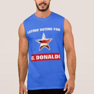 Latinoröstning för El Donaldo Sleeveless Tröjor