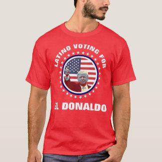 Latinoröstning för El Donaldo Tee