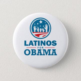 Latinos för Obama Standard Knapp Rund 5.7 Cm