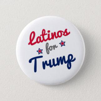 Latinos för trumf 2016 standard knapp rund 5.7 cm