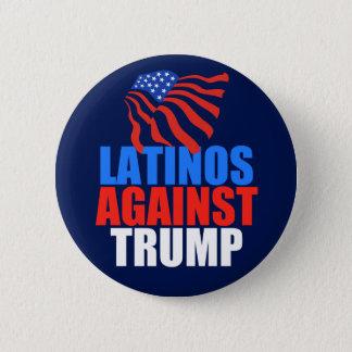 Latinos mot trumf standard knapp rund 5.7 cm