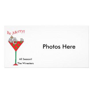 Lätt berusad-tini's elefant fotokort