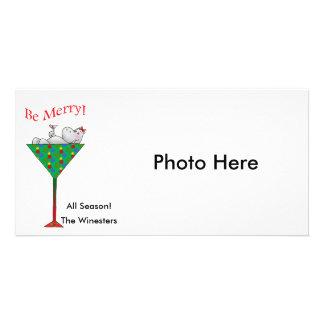 Lätt berusad-tini's flodhäst fotokort