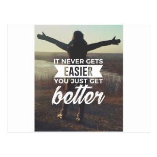 Lättare starkare förbättrar vykort