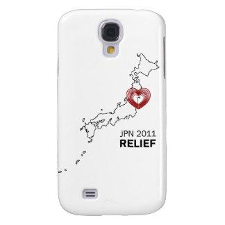 Lättnad 2011 för Japan jordskalvTsunami Galaxy S4 Fodral
