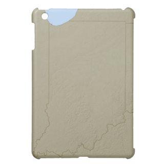 Lättnadskarta av Indiana iPad Mini Mobil Skydd