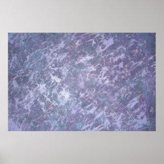 Lättretlig lila purpurfärgad lavendelSplatter för Poster