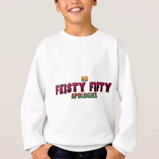 Lättretliga femtio 50th födelsedaggåvor tee shirt