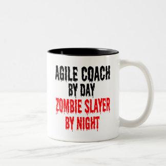 Lättrörlig lagledare för ZombieSlayer Två-Tonad Mugg
