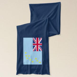 Lättvikts- Scarf för Tuvalu flagga Halsduk
