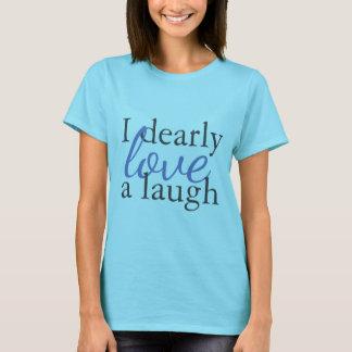 Laughter för kärlek för Jane Austen T Shirts