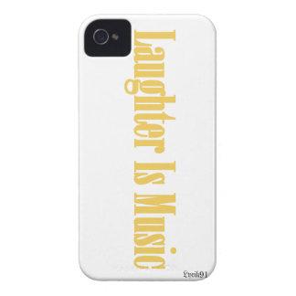 Laughteren är musik Case-Mate iPhone 4 skydd