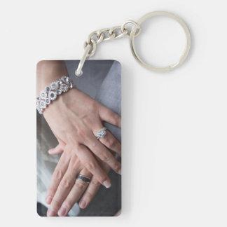 Laura + Eric bröllop Keychain
