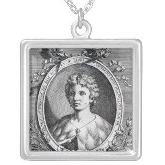 Laura Maria Caterina Bassi Silverpläterat Halsband