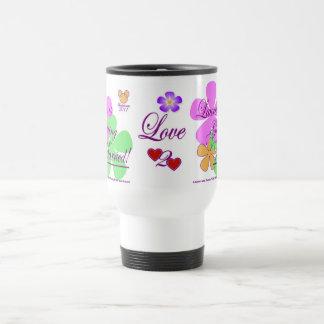 Lauren och Justin FÖR EVIGTtravel mug Resemugg