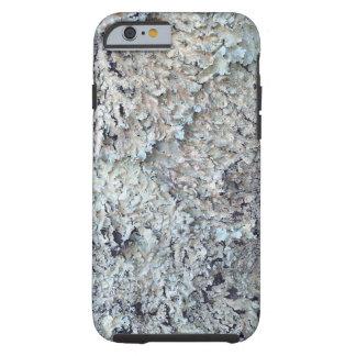 Lav som växer i ett litet stativ av träd tough iPhone 6 case
