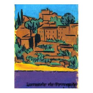 Lavande de Provence Vykort
