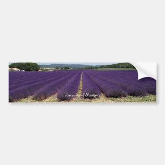 Lavendel av Provence Bildekal