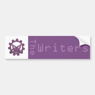 Lavendel: Författarebildekalet Bildekal