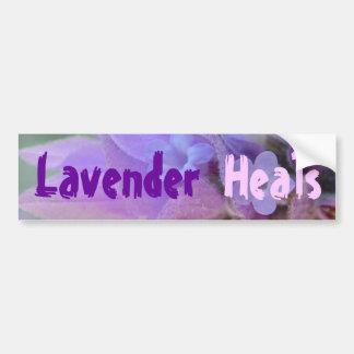 Lavendel läker bildekalet bildekal