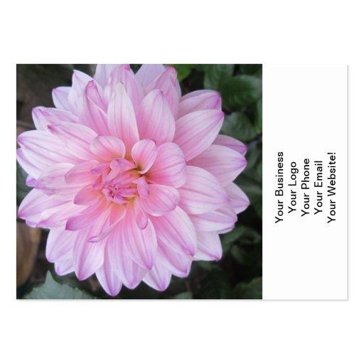 LavendelDahliablomma Visit Kort